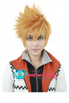 30cm Kingdom Hearts II Roxas Cosplay Perruque