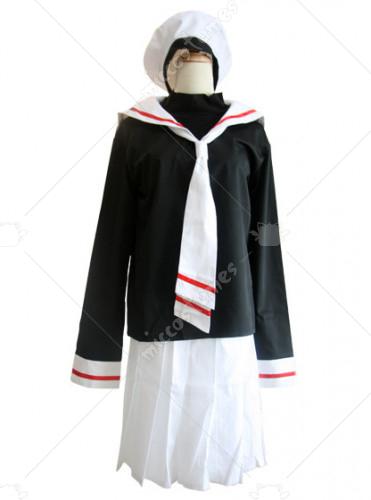 Cardcaptor Sakura Sakura Kinomoto Autumn Uniform Cosplay Costume