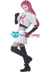 Pokemon Team Rocket Jesse Cosplay Costume
