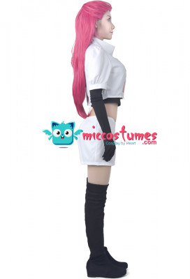 Pokemon Team Rocket Jessie Cosplay Costume