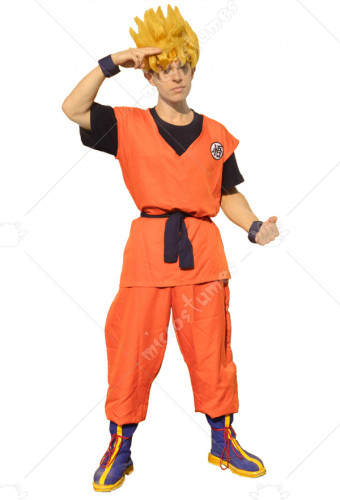 Dragon Ball Son Goku Cosplay Costume