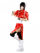 Street Fighter Chun Li Red Cosplay Costume