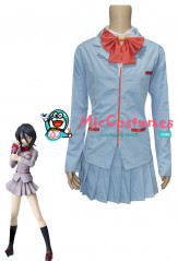 Bleach Rukia Kuchiki School Uniform Cosplay Costume