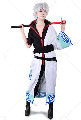 62ef67e73 Gintama Silver Soul Sakata Gintoki Cosplay Costume