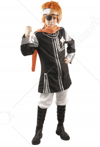 D Gray Man Lavi Rabi Cosplay Costume
