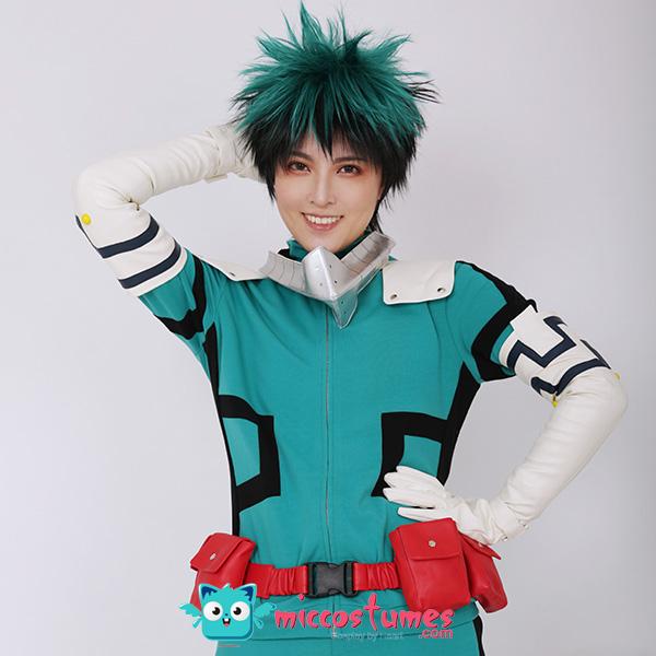 My Hero Academia Midoriya Izuku Deku Cosplay Kostüm Kampfanzug