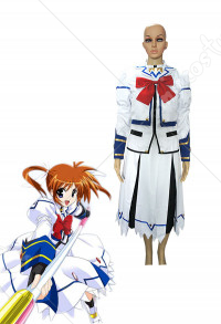 Magical Girl Lyrical Nanoha Cosplay Costume