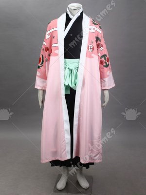 Bleach 8th Division Captain Kyoraku Shunsui Cosplay Costume