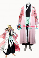 Bleach 8th Division Captain Kyoraku Shunsui Cosplay Costume