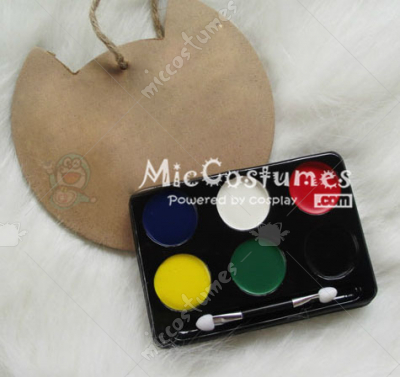 6 Colors Body Paint For Cosplay
