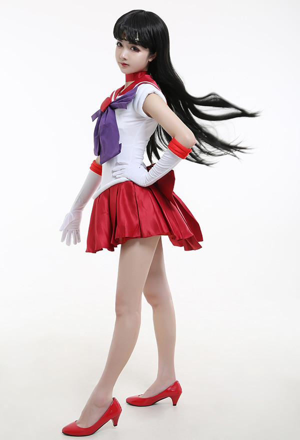Sailor Moon Sailor Mars Cosplay Kostüme
