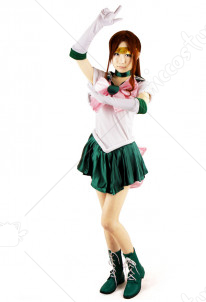 Cosplay de Makoto Kino en Sailor Jupiter dans Sailor Moon