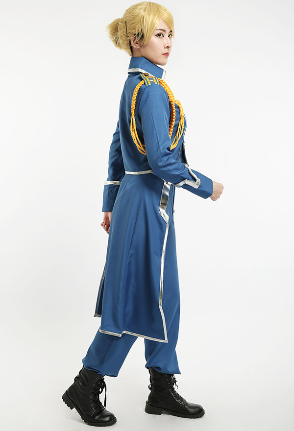 FullMetal Alchemist Riza Hawkeye Military Cosplay Kostüme