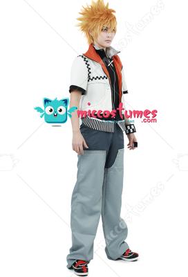 Kingdom Hearts Roxas Cosplay Costume