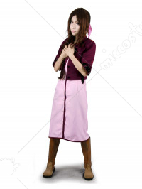 Final Fantasy VII Aerith Cosplay Costume