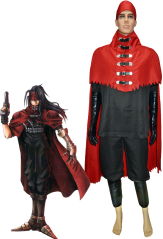 Final Fantasy VII Vincent Valentine Cosplay Costume