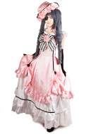 Black Butler Kuroshitsuji Ciel Womens Cosplay Costume