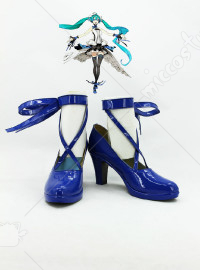 7th Dragon 2020 Miku Cosplay Schuhe