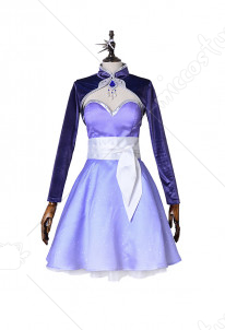 RWBY Season 4 Weiss Schnee Cosplay Dress Costume