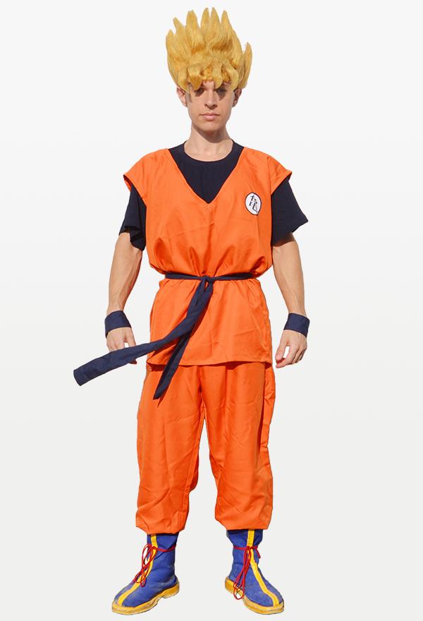 Dragon Ball Goku Cosplay Kostüme Enthalten Schuhbekleidung