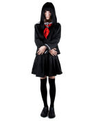 Hell Girl Ai Enma Cosplay Costume