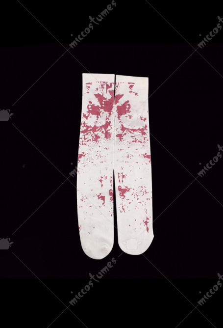 Halloween Cosplay Costume Bloody Stockings Masquerade Stockings Polyester Stockings