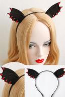 [Free US Economy Shipping] Cute Sweet Hair Accessory Black Little Devil Elf Headband Kid Adult Headband