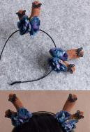 [Free US Economy Shipping] Halloween Cosplay Animal Headband Antlers Headband Elk Headband