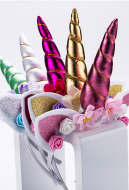 [Free US Economy Shipping] Halloween Cosplay Unicorn Cosplay Kid Headband Birthday Gift Party Hair Accessory