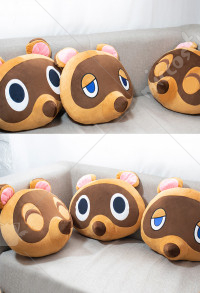 Animal Crossing Tom Nook Timmy Tommy Raccoon Tanuki Cushion Anime Hugging Pillow