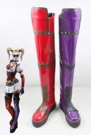 Batman: Arkham Asylum Haryley Quinn Cosplay Boots