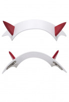 DARLING in the FRANXX Zero Two Code 002 Cosplay Hair Accessory Headwear