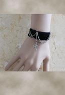 [Free US Economy Shipping] Retro Steampunk Gothic JK Lolita Cross Bracelet