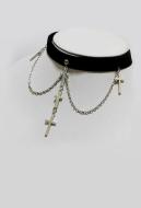 [Free US Economy Shipping] Retro Steampunk Gothic Lolita Cross Multi Layer Necklace Choker