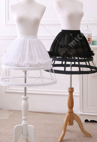 [Free US Economy Shipping] Lolita Bustle Fishbone Bustle Adjustable Three-story Birdcage Bustle Daily Inside Dress Bustle