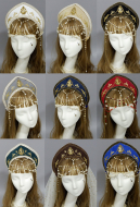 Exclusive Original Handmade Court Retro Gorgeous Flower Hair Accessory Headband