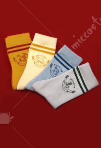 Harry Potter Socks Snape Hermione  Malfoy Slytherin Cotton Socks