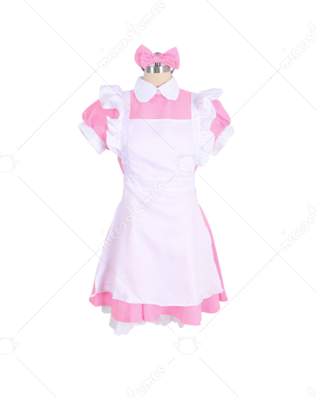 Alice in Wonderland Women Girl Maid Fancy Dress Lolita Cosplay Costume