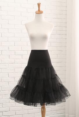 Lolita None-hoop Mid-length Crinoline Cosplay Petticoat