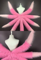 LOL League of Legends Ahri Star Guardian Cosplay Fluffy Tails Prop