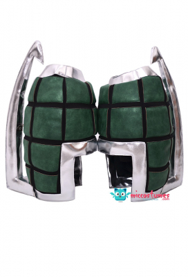 My Hero Academia Katsuki Bakugo Kacchan Cosplay Hero Suit Gauntlets