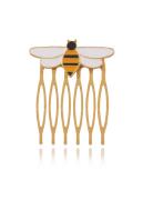 Queen Bee Yellow Hairpin