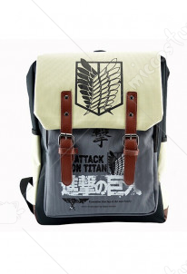 Attack on Titan Scouting Legion School Bag