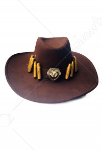 Overwatch MCCree Cosplay Hut