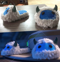 Lolishe Overwatch Mei Cotton Slippers Cosplay Slippers