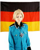 Hetalia Axis Powers Germany Cosplay Wig
