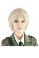 Hetalia Axis Powers England Cosplay Wig