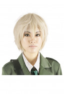 Hetalia Axis Powers England Cosplay Wig