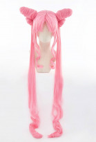 Sailor Moon Goth Black Lady Chibiusa Tsukino cosplay peluca