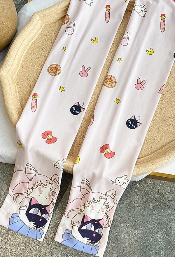 Pretty Soldier Sailor Moon Chibiusa Sonnencreme Manschette UV-Schutz Cosplay Arm Ice Silk Armstulpen Sports Eismanschette Armschutz